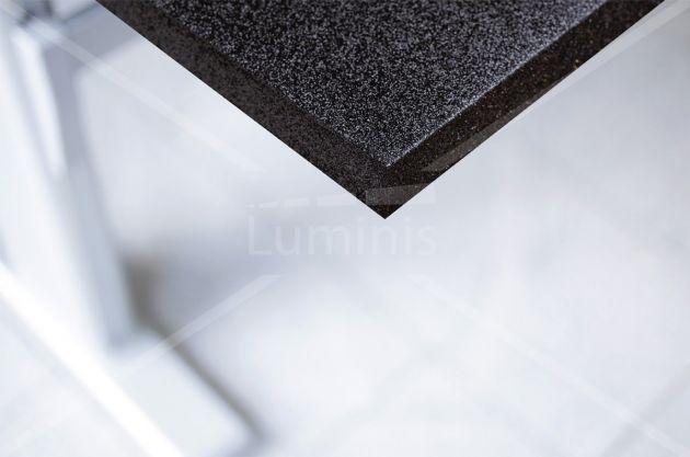 Adhésif pout meuble pailleté noir. Luminis-Films