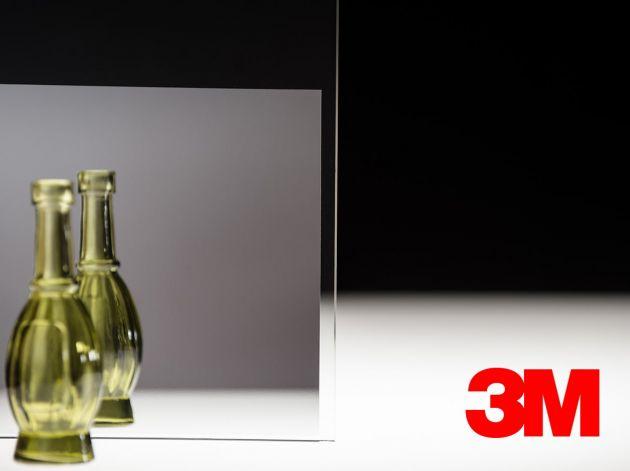 Film décoratif Fasara 3M argent miroir. Luminis Films