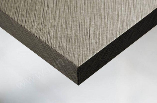 Adhésif imitation tissu brossé gris foncé. Variance Auto