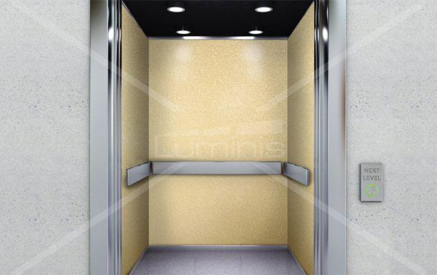 Décoration meuble doré arabesque