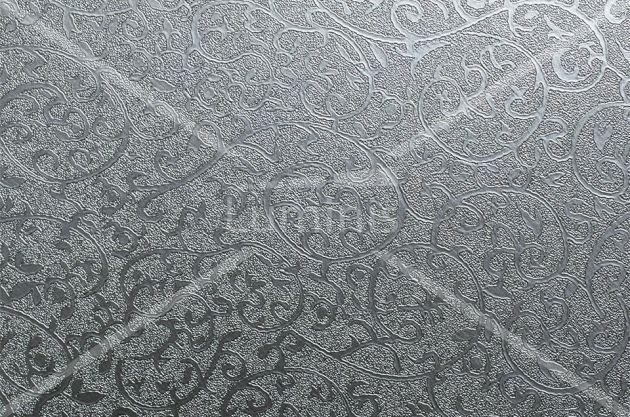 Revêtement déco métallisé arabesque. Luminis Films