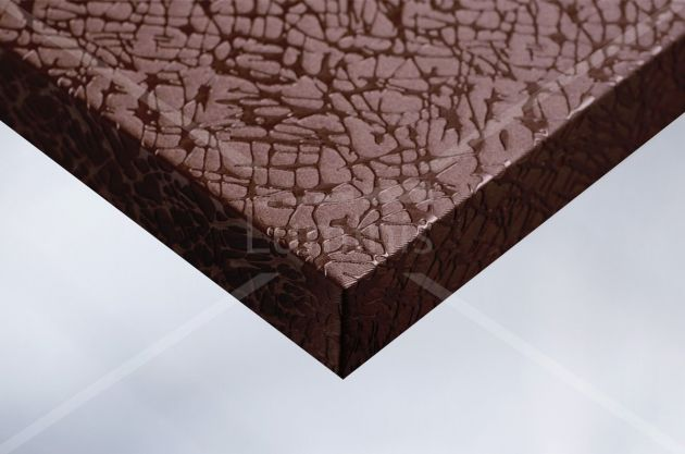 Papier adhésif tissu craquelé cuivre. Variance Auto