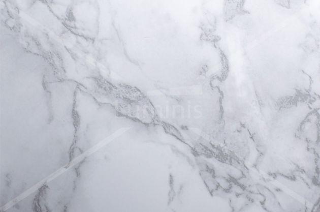 Adhésif plan de travail marbre blanc brillant. Variance Auto