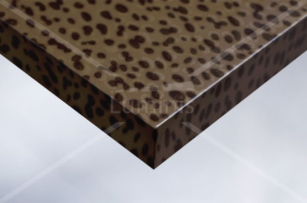 Adhésif hologramme effet léopard. Luminis Films