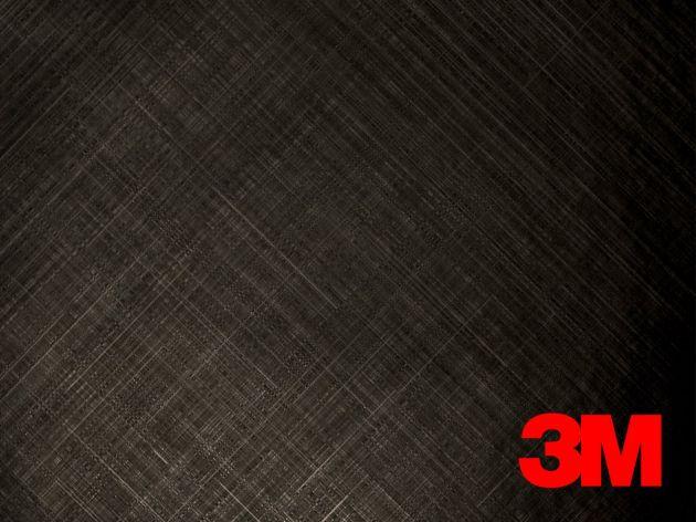 Revêtement décoratif DI NOC 3M effet métal strié gris. Variance Auto