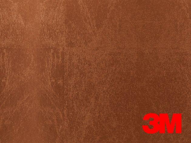 Revêtement décoratif DI-NOC 3M effet feuille cuivré. Luminis Films