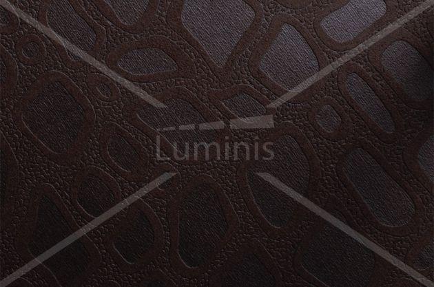 Adhésif tissu design marron foncé - TISSU-3119. Luminis Films