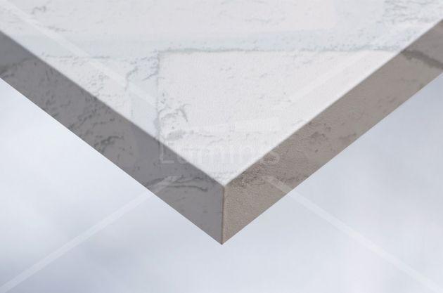Revêtement mur de briques blanches. Luminis Films