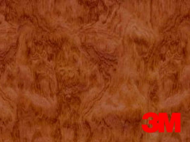 Revêtement décoratif DI-NOC 3M effet bois reflets dorés. Luminis Films