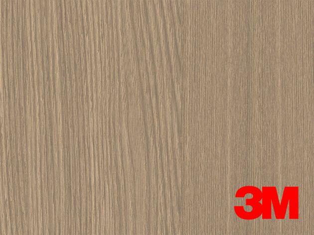 Revêtement décoratif DI-NOC 3M effet bois médium veinage foncé. Luminis Films