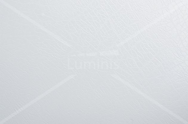 Revêtement adhésif effet cuir blanc. Luminis Films