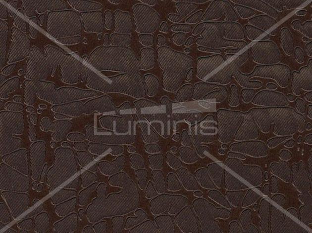 Revêtement déco effet tissu craquelé bronze. Luminis-Films
