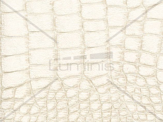 Adhésif croco beige clair nacré