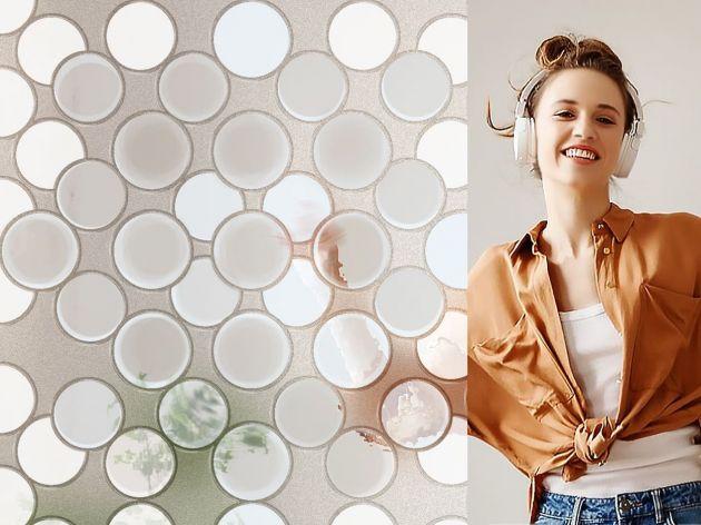 Film électrostatique bulles texturées. Luminis Films