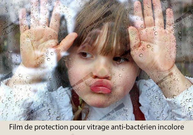Film anti bactérien incolore. Luminis-Films