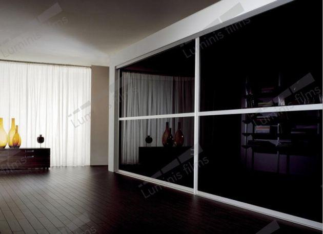 Film opaque noir nacré. Luminis-Films