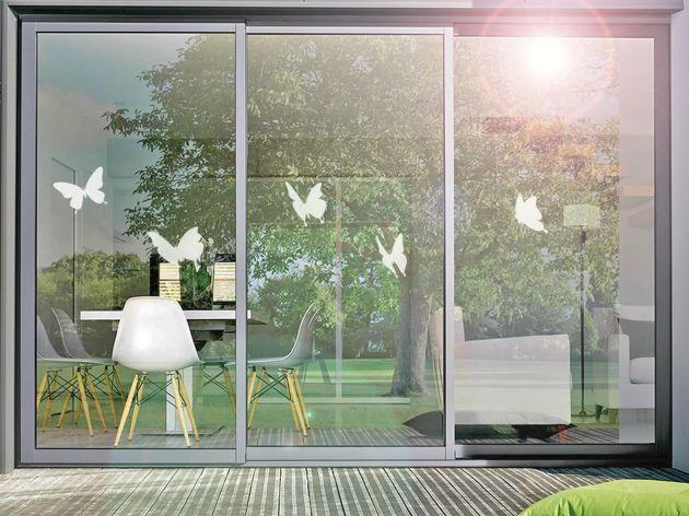 Stickers pour vitre motif papillons. Luminis Films