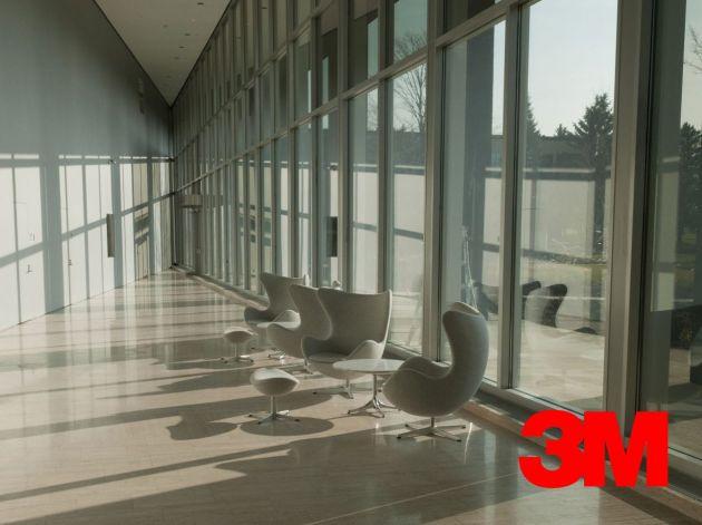 Film solaire 3M légèrement teinté Prestige 40 extérieur. Luminis Films