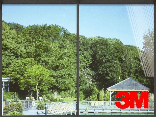 Film de protection solaire 3M transparent Prestige 70 extérieur. Luminis Films