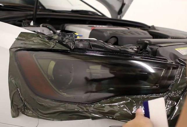 Comment appliquer mon film teinté phare de voiture ?. Variance Auto
