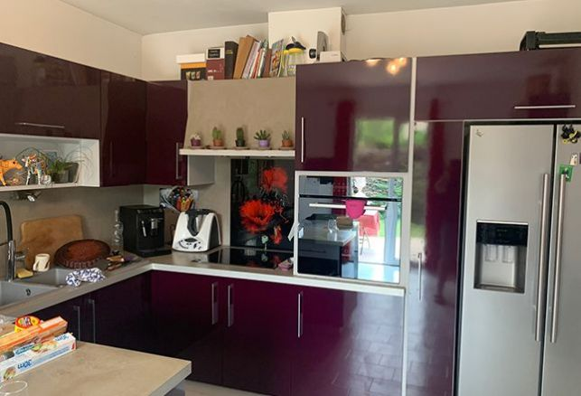 Changer de couleur en un clin d'œil pour une cuisine moderne !. Luminis Films