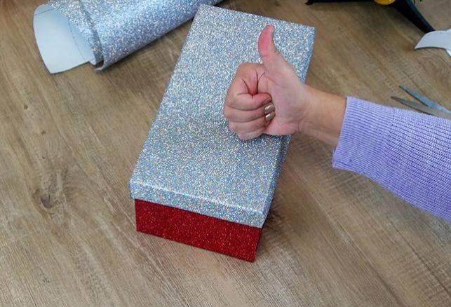 DIY : créez une boîte à cadeaux originale et unique . Variance Auto