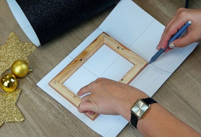 DIY idée cadeau : un beau cadre photo customisé ! . Luminis Films