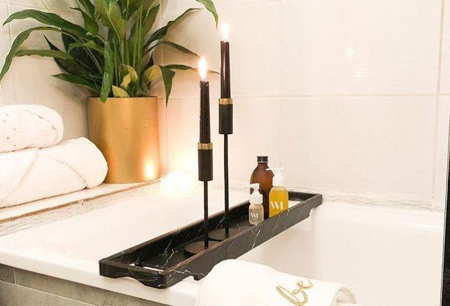 Du marbre pour une salle de bain exceptionnelle !. Variance Auto