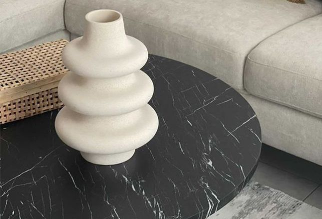 Table basse marbre : un avant/après spectaculaire ! . Luminis Films