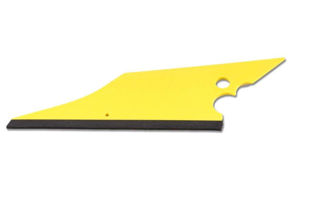 VO115  Conquistador : raclette polyvalente pour maroufler et passer derrière les joints. Luminis-Films