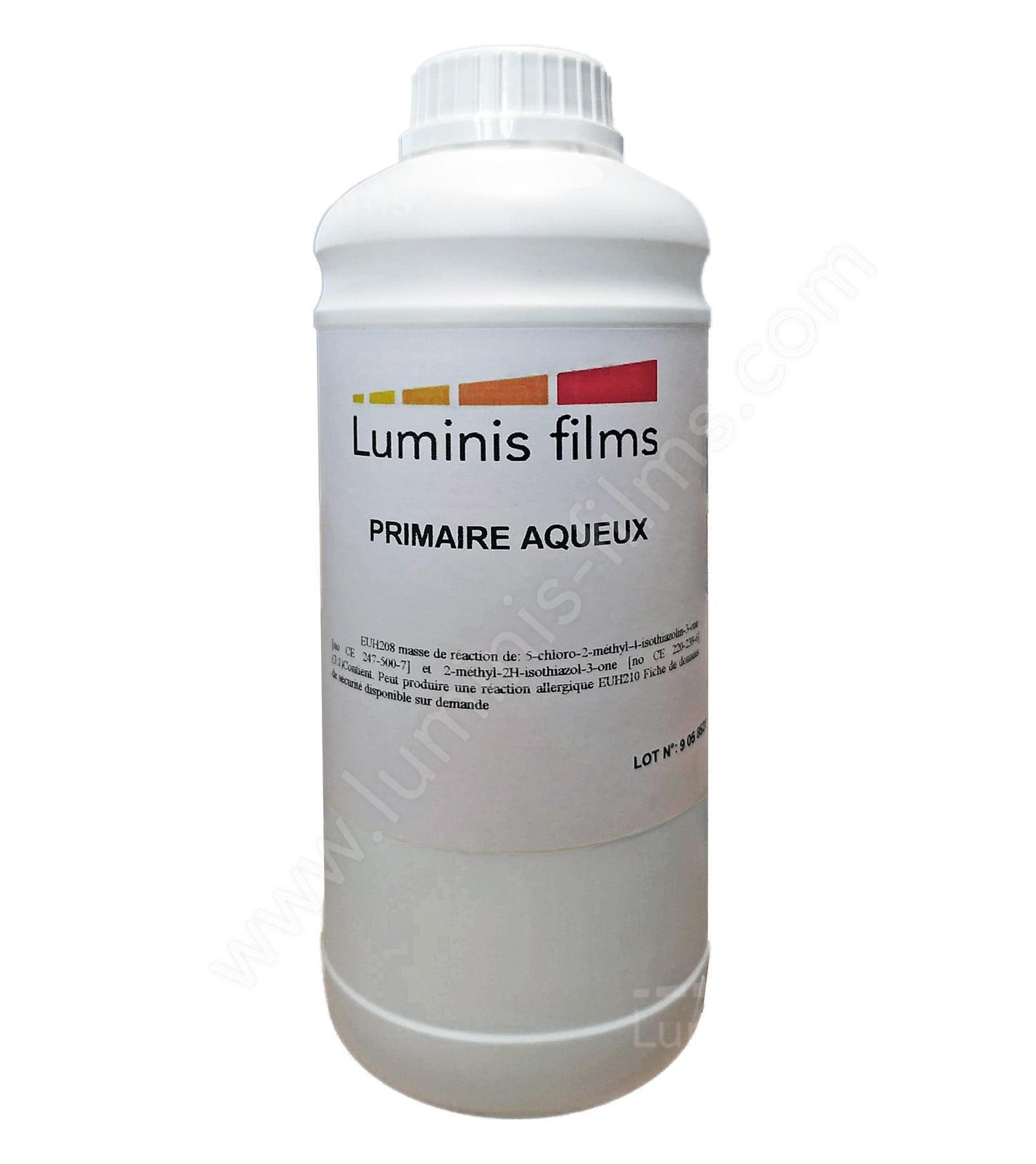 Primer (500 ml) : pour bloquer la surface. Luminis-Films