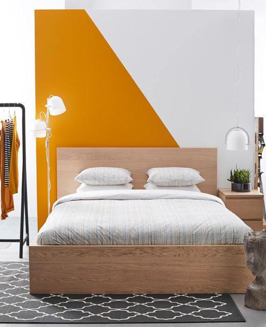 Revêtement décoratif orange mat 2D. Luminis Films