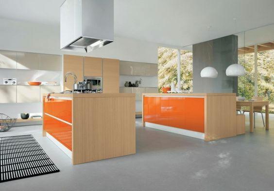 Revêtement orange brillant 2D. Variance Auto