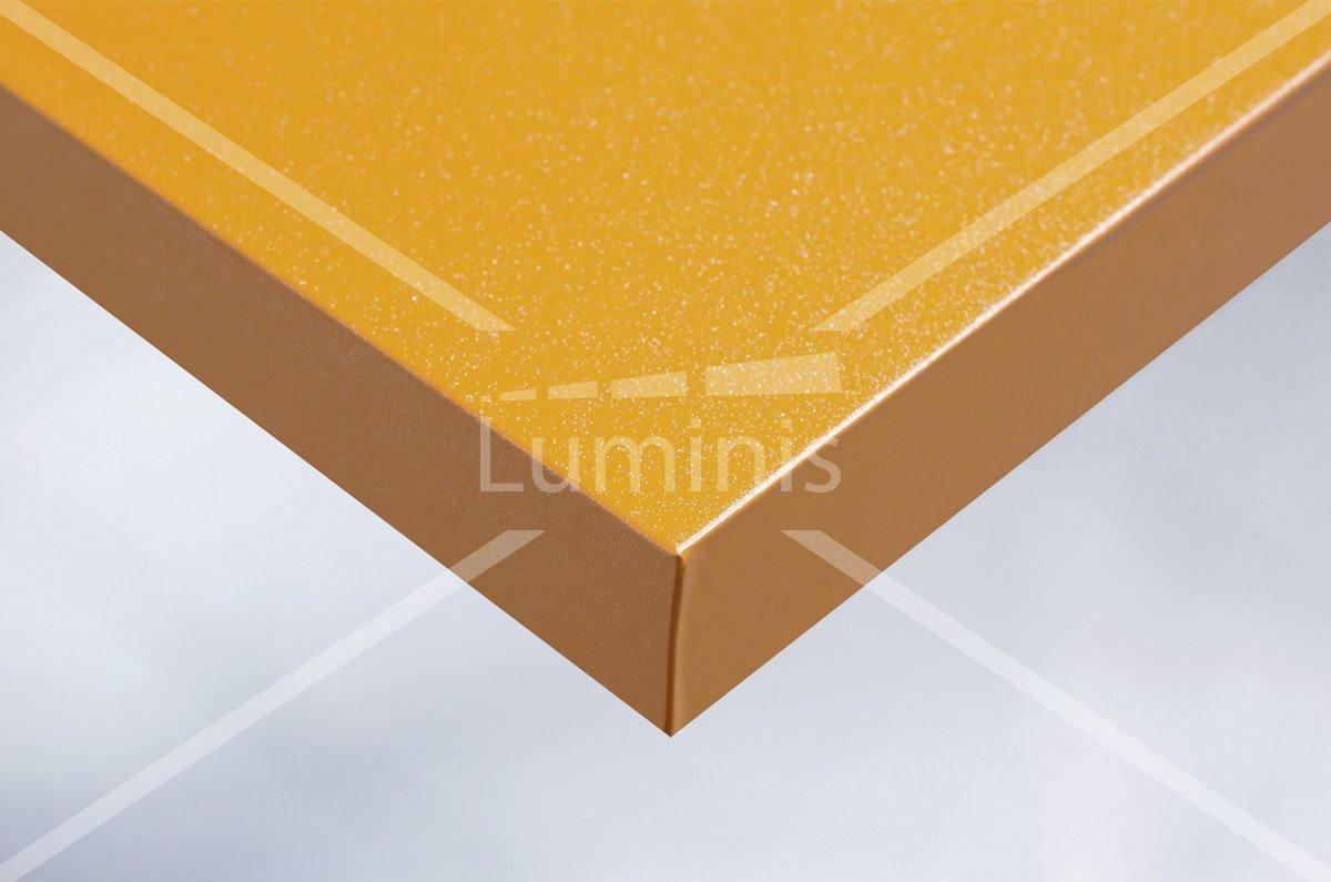 Film orange aux fines paillettes argentées - J10. Luminis-Films