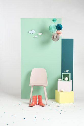 Adhésif couleur vert d'eau mat - MAT-2337. Luminis-Films