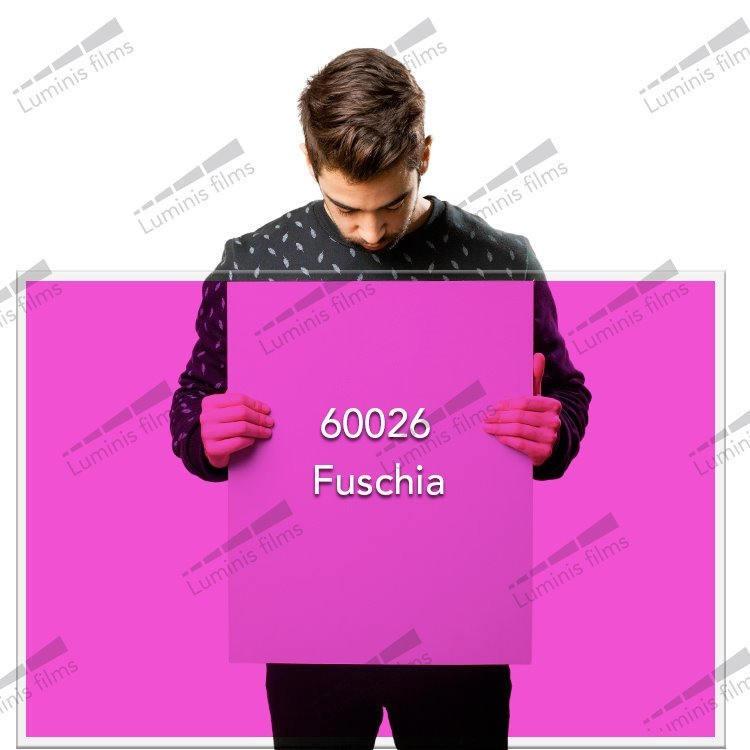 Film décoratif de couleur fuschia - 60026. Luminis-Films