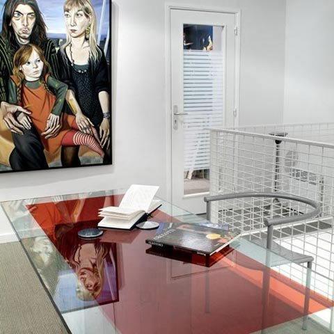 Film d coratif de couleur rouge vermillon 60193 luminis - Film adhesif decoratif pour meuble ...