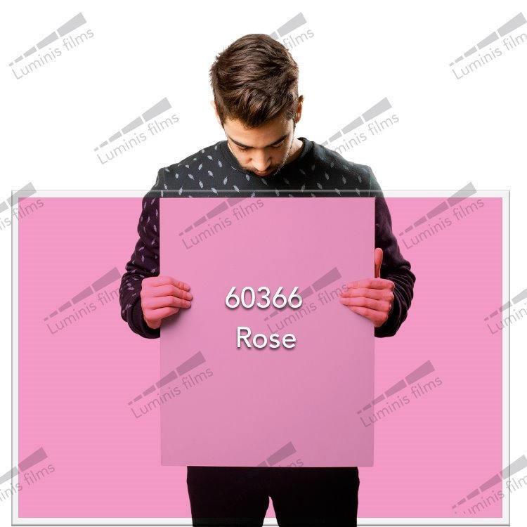 Film décoratif de couleur rose - 60366. Luminis-Films