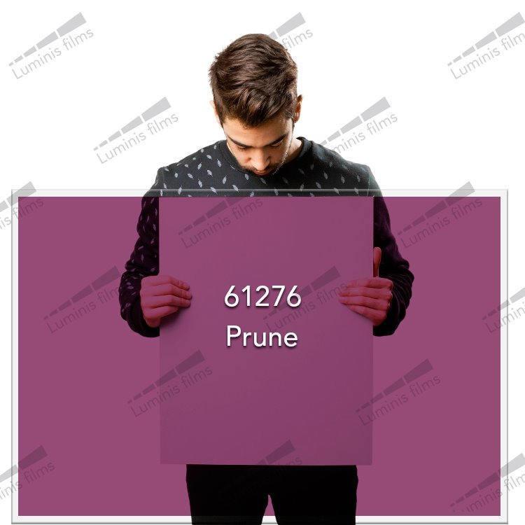 Film décoratif de couleur Prune - 61276. Luminis-Films