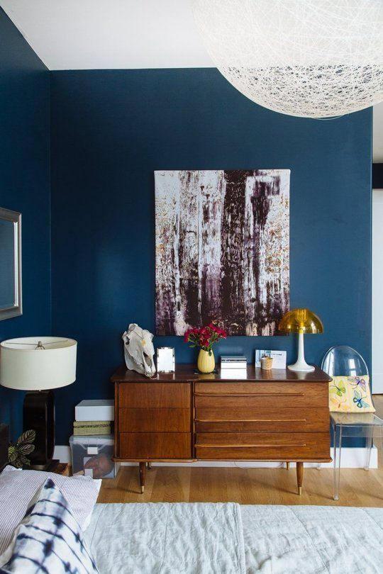 Adhésif déco bleu roi mat - MAT-2322. Luminis-Films