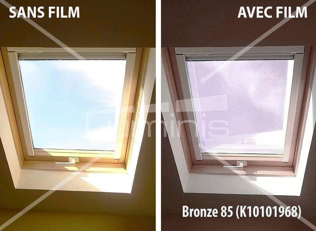 film repositionnable solaire bronze stat 208ix luminis. Black Bedroom Furniture Sets. Home Design Ideas