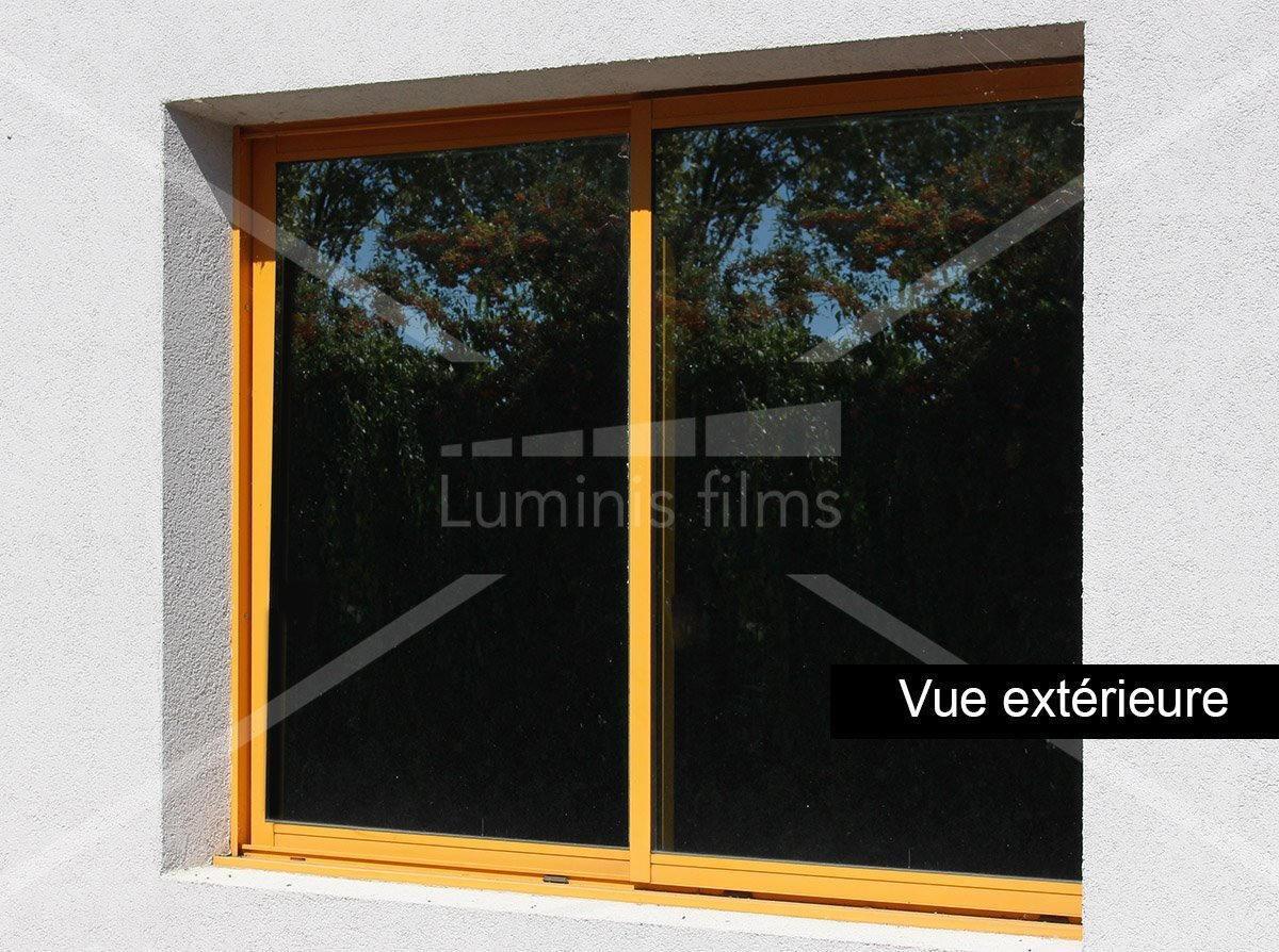 film de protection solaire noir intense sun 952 luminis films. Black Bedroom Furniture Sets. Home Design Ideas