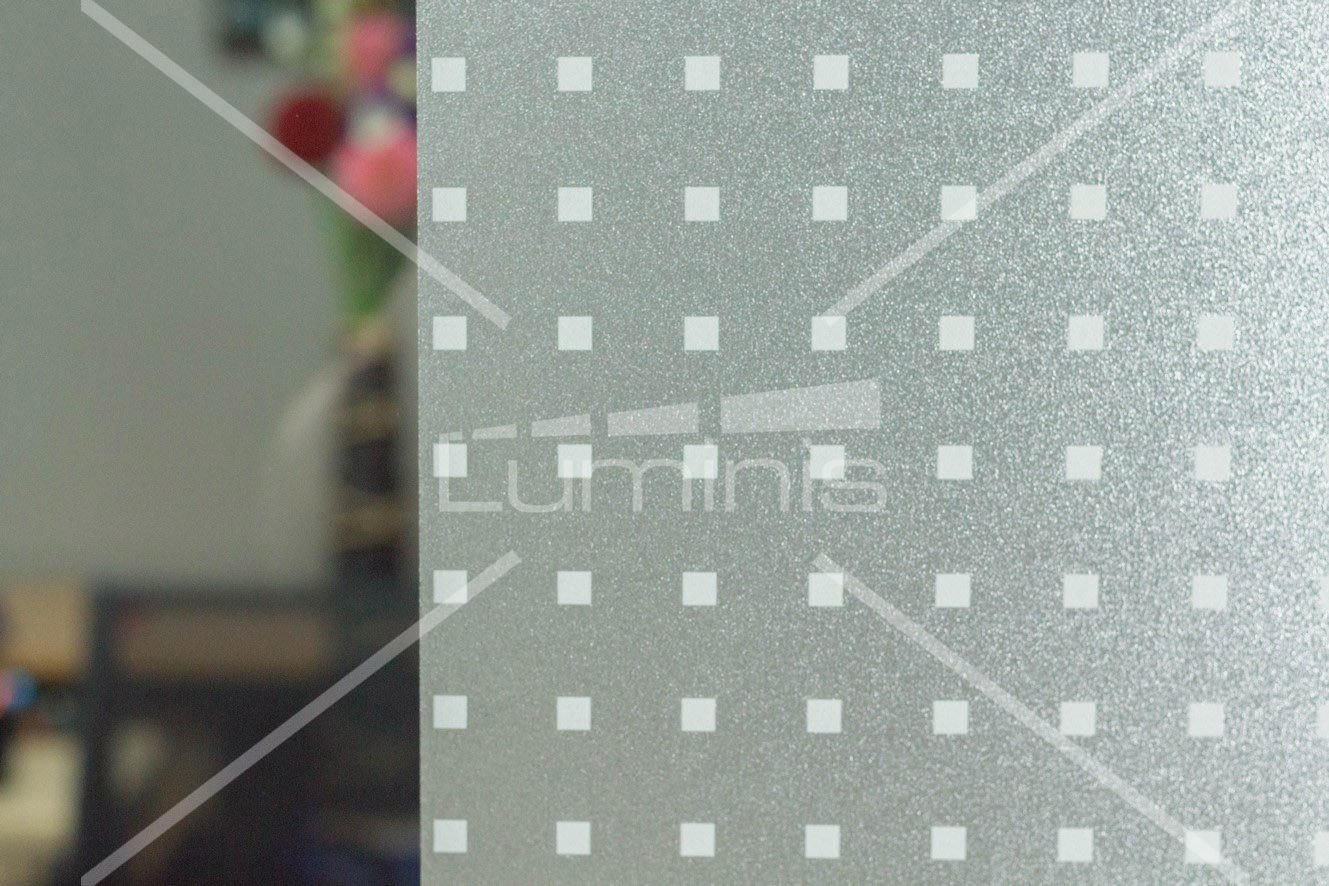 Film repositionnable - Confine P018W. Luminis-Films