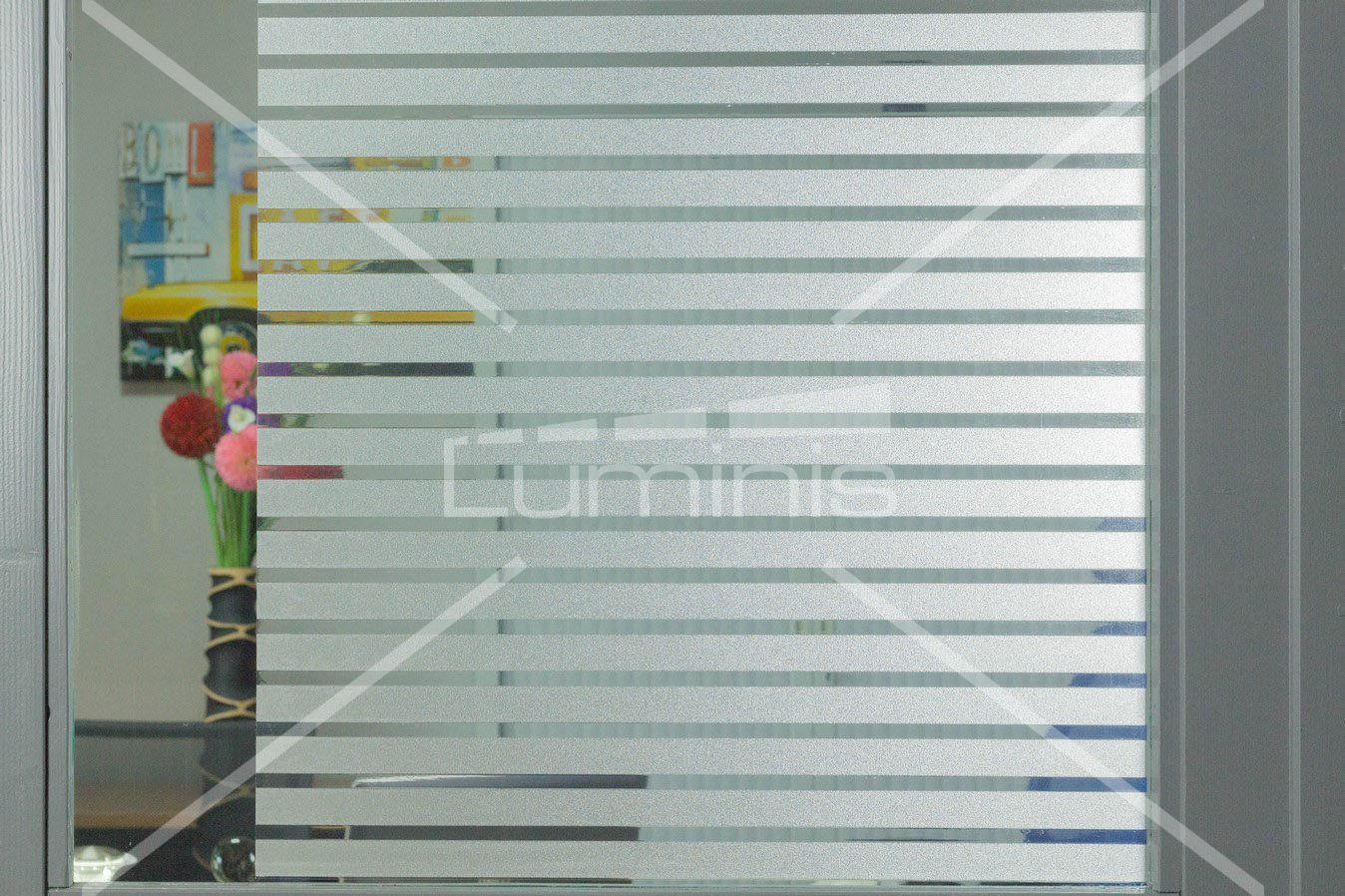 Film repositionnable - Corporate - S018. Luminis-Films
