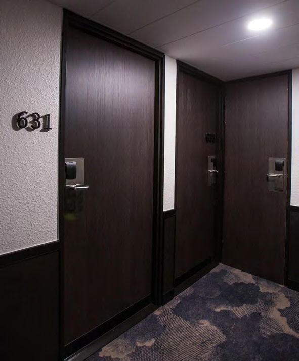 Revêtement décoratif bois foncé - BOIS3-2225. Luminis-Films