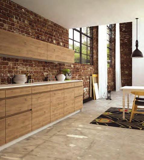 Adhésif pour meuble bois chêne moderne - BOIS2-2119. Luminis-Films