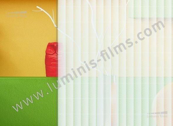 Film décoratif à bandes tramées. Variance Auto