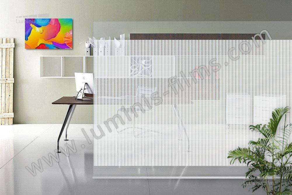Film d coratif bandes tram es deco 511i luminis films - Film adhesif decoratif pour meuble ...