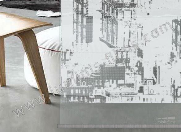 Film d coratif motifs de ville deco 520i luminis films - Film adhesif decoratif pour meuble ...