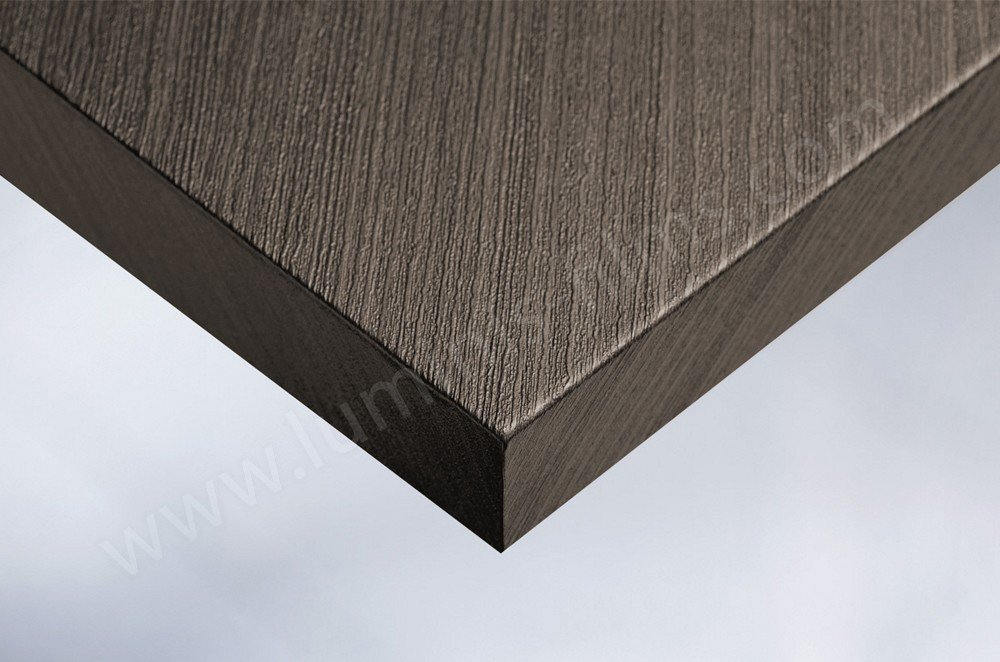 Revêtement décoratif bois foncé. Luminis-Films